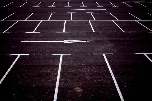 Parking Lot Photograph - Parking Lot by Chema Alba