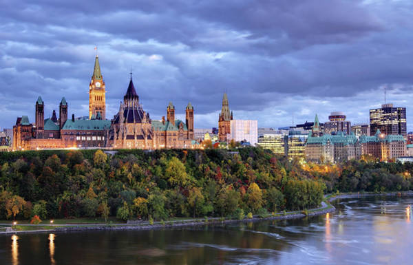 Quebec City Photograph - Parliament Hill  Ottawa, Canada by Denistangneyjr