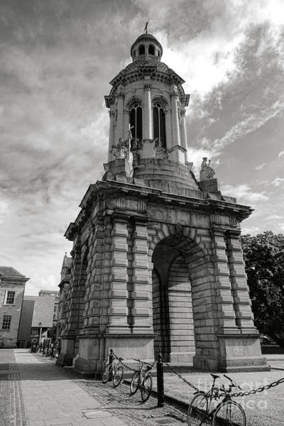 Photograph - Parliament Square Campanile At Dublin Trinity College by Olivier Le Queinec