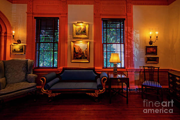 Wall Art - Photograph - Parlor Room Of The Mcilwaine House 1362t by Doug Berry