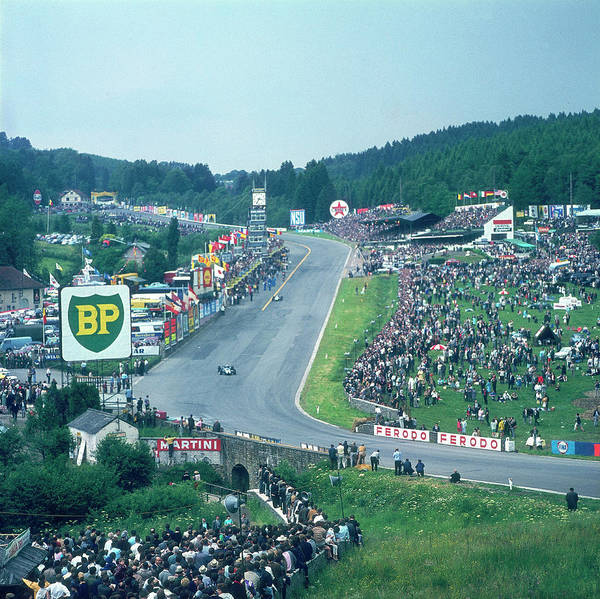 Belgium Photograph - Part Of Spa-francorchamps Race Track by Heritage Images
