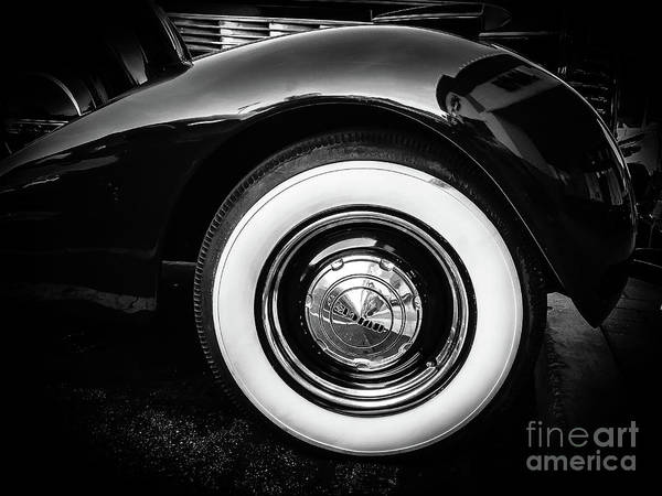 Photograph - Partial Of 80 Years Old Buick by Fei A
