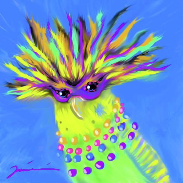 Digital Art - Party Animal by Jean Pacheco Ravinski