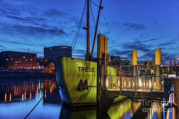 Freighter Wall Art - Photograph - Party Boat by Paul Quinn