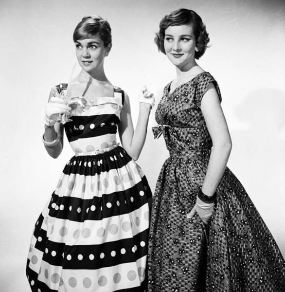 Evening Wear Photograph - Party Ladies by Chaloner Woods