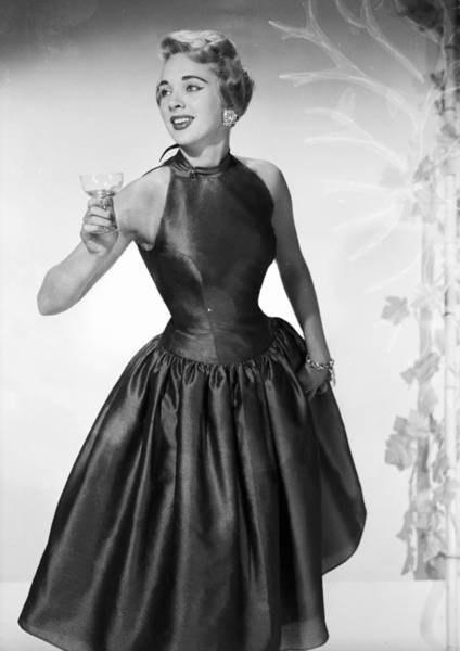 Evening Wear Photograph - Party Lady by Chaloner Woods