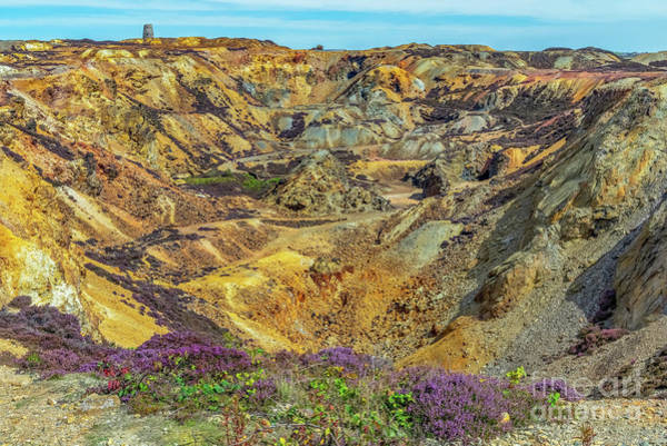 Photograph - Parys Mountain Mine by Adrian Evans