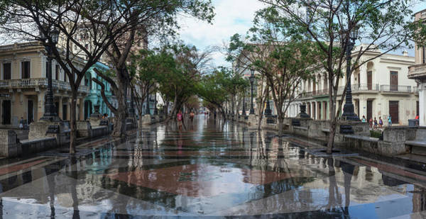 Prado Photograph - Paseo Del Prado After A Rain, Havana by Panoramic Images