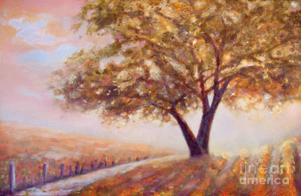 Painting - Paso Robles Oak Tree by Michael Rock