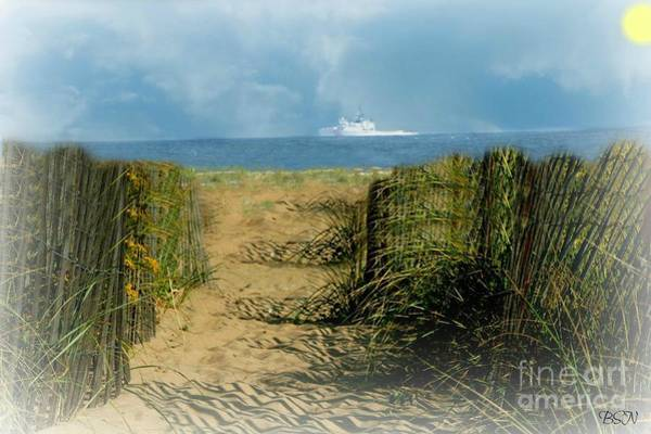 Photograph - Pass Me By In New England by Barbara S Nickerson