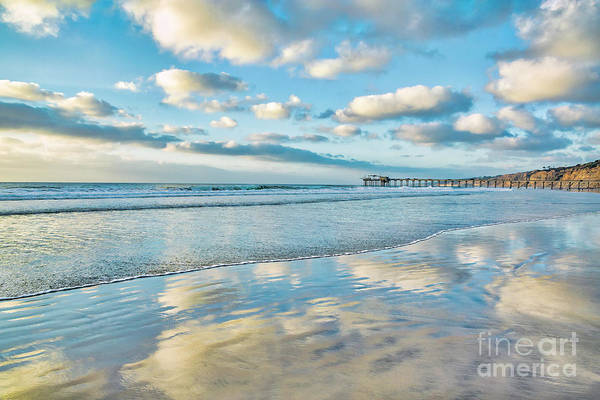 Wall Art - Photograph - Passing Clouds Over La Jolla Shores, California by Julia Hiebaum