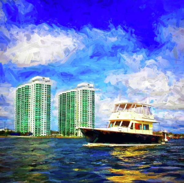 Photograph - Passing The Marina Grande by Alice Gipson