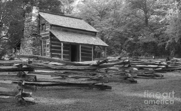 John Oliver Cabin Photograph - Passing Through Time 2 by Mike Eingle