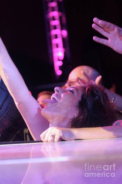 Steven Tyler Photograph - Passionate Front Row Fan by Concert Photos