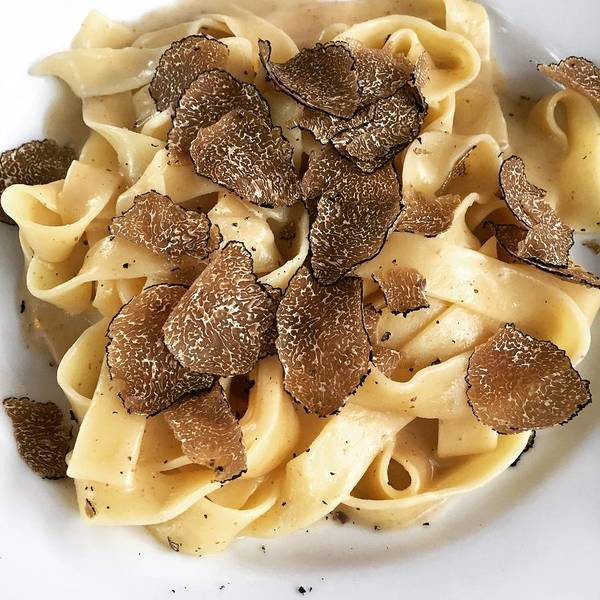 Wall Art - Photograph - Pasta With Shaved Truffles by Alexandra Lawson
