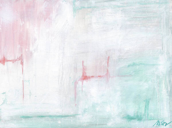 Wall Art - Painting - Pastel Abstract II by Molly Susan Strong