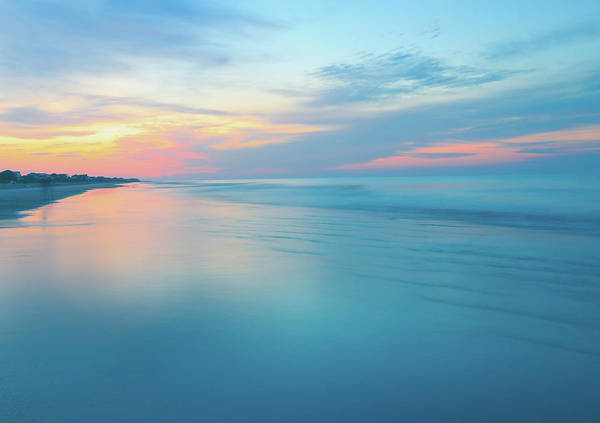Photograph - Pastel Beach Sunrise by Dan Sproul