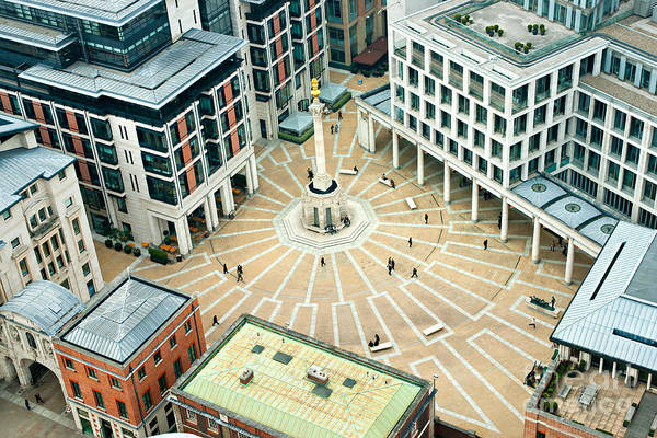 Wall Art - Photograph - Paternoster Square, London. It Is An by Luciano Mortula - Lgm