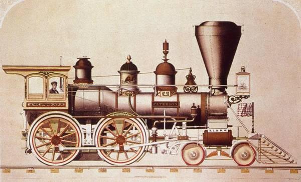Wall Art - Photograph - Paterson Train by Mpi