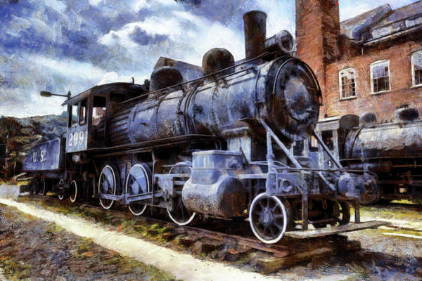 Wall Art - Photograph - Paterson Train Museum by Geraldine Scull
