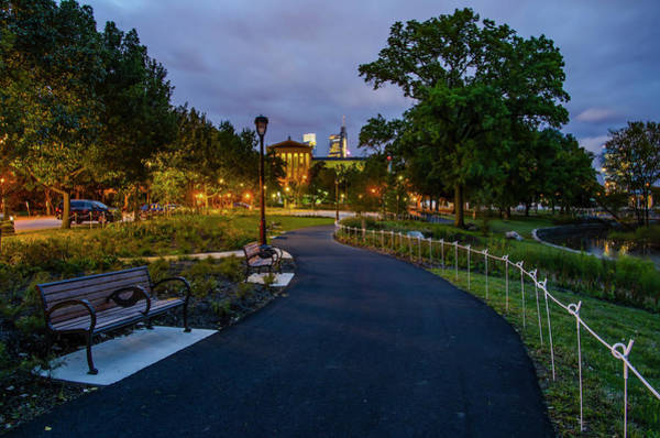 Photograph - Path Behind Museum Of Art - Philadelphia by Bill Cannon