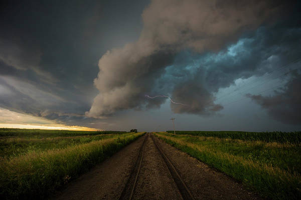 Severe Wall Art - Photograph - Path Less Traveled  by Aaron J Groen