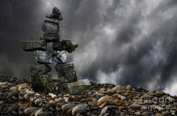Wall Art - Photograph - Path Of The Inuksuk by Bob Christopher