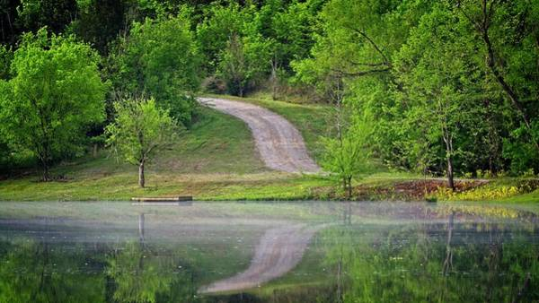 Photograph - Path Reflected Upon by John Benedict