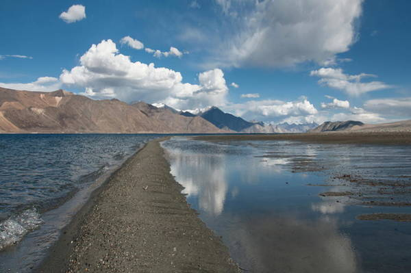 Lakes Region Photograph - Path Through The Lake by Amateur Photographer, Still Learning...