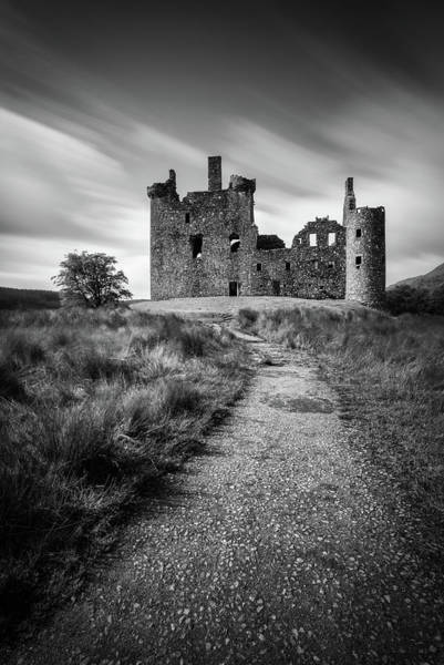 Wall Art - Photograph - Path To Kilchurn Castle by Dave Bowman
