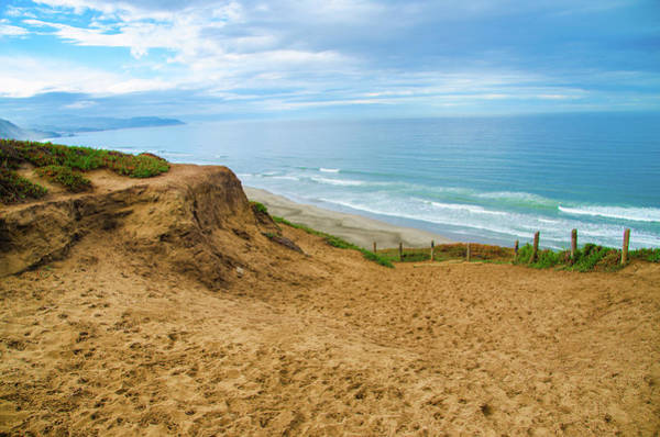 Photograph - Path To Paradise - Pacifica State Beach - California by Bill Cannon