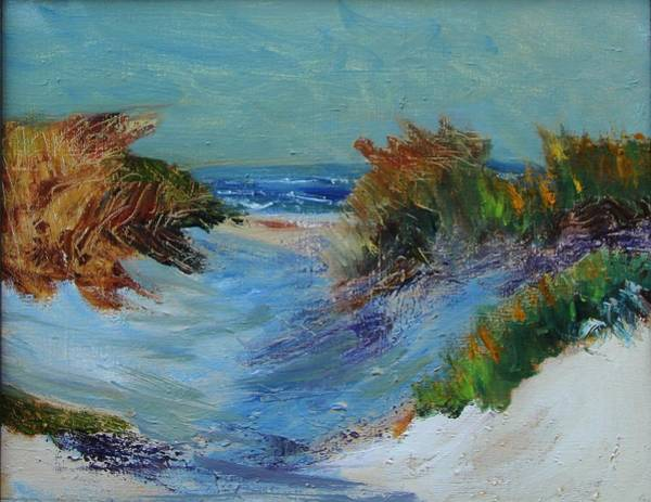Painting - Path To The Ocean by Michael Helfen