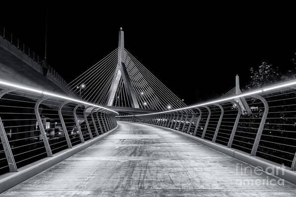 Photograph - Path To The Zakim by Jesse MacDonald
