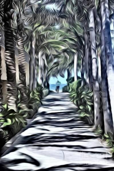 Wall Art - Photograph - Path Under The Palms by Mesa Teresita
