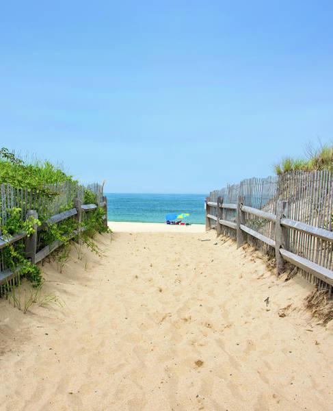 Wall Art - Photograph - Pathway To The Beach - Ballston Beach - Truro Massachusetts by Brendan Reals