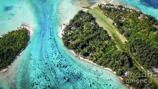 Bora Bora - Pathway To The Ocean Art Print
