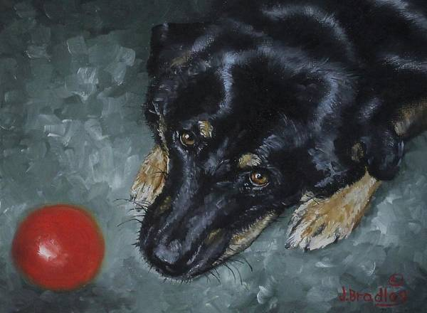 Painting - Patience by Judy Bradley