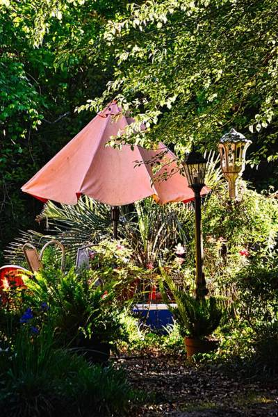 Wall Art - Photograph - Patio Lamps by Linda Brown