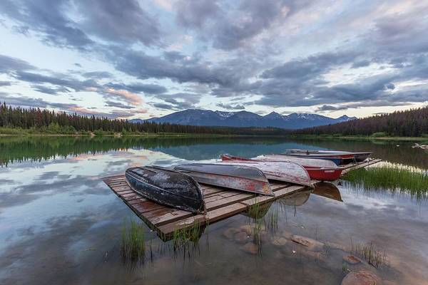 Photograph - Patricia Lake Sunset by Paul Schultz