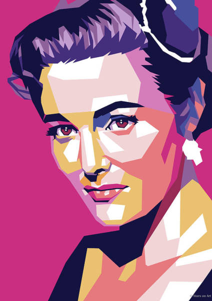 Wall Art - Digital Art - Patricia Neal by Stars on Art