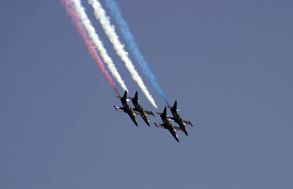 Photograph - Patriot Flight Team by Anthony Jones