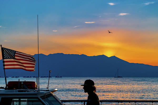 Photograph - Patriot On The Lake by Robert FERD Frank