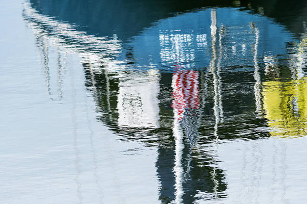 Photograph - Patriotic Reflection by Robert Potts