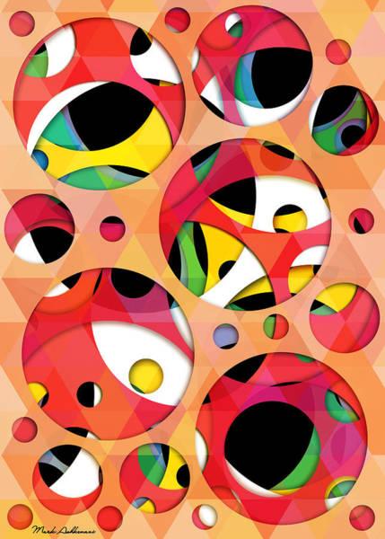 Wall Art - Painting - Pattern 4  by Mark Ashkenazi