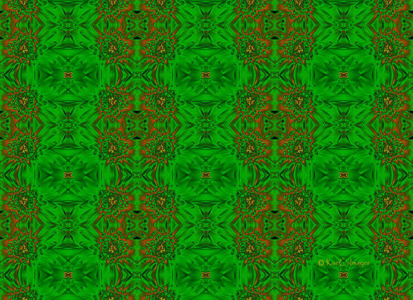Photograph - Pattern In Green by Kae Cheatham