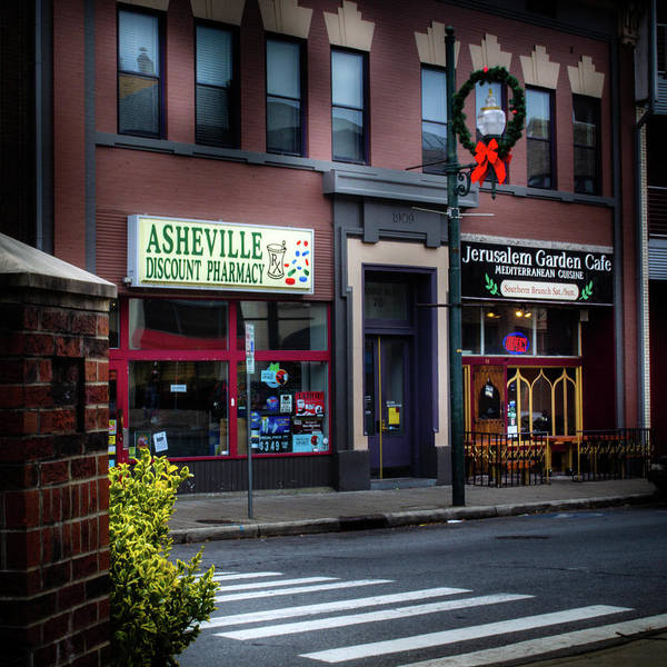 Asheville Wall Art - Photograph - Patton Avenue Asheville by Greg and Chrystal Mimbs
