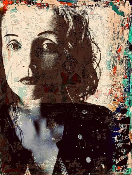 Mixed Media - Patty Griffin by Jayime Jean