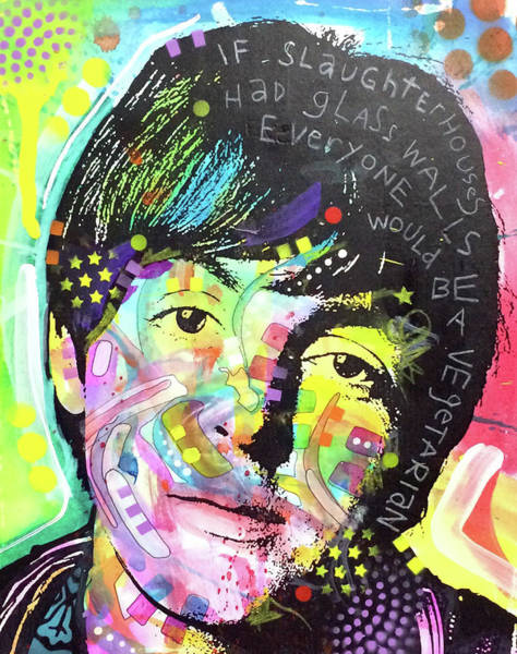 Paul Mccartney Painting - Paul Mccartney by Dean Russo Art