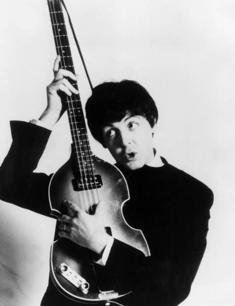 British Culture Photograph - Paul Mccartney by Express