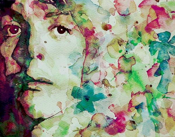 Wall Art - Painting - Paul Mccartney - Hello Goodbye - Portrait  by Paul Lovering